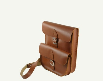 Men Shoulder Bag Men Saddle Bag Men Leather Bag Cross Body Bag Leather Messenger Bag