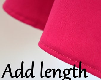 Add Length to Your Skirt