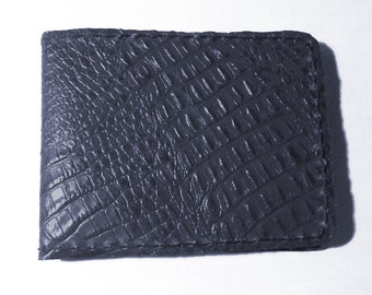 Alligator Leather Billfold Embossed