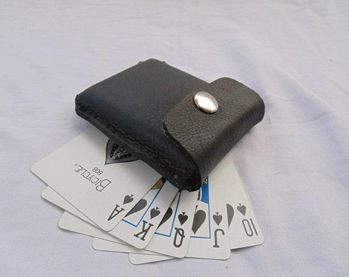 Custom Leather Card Case