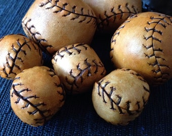 Leather Ball for Chop Cup or Cups and Balls