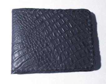 Alligator Leather Billfold Embossed