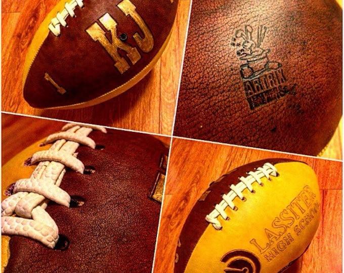 Custom Leather Football