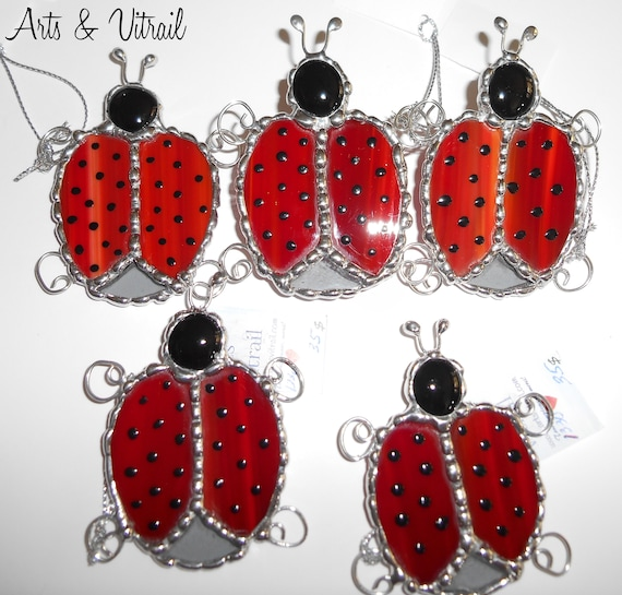 Screen Door Magnet, Red Ladybug Suncatcher Screen, Screen Door Saver,