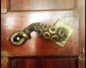 2x octopus door handle steampunk vintage