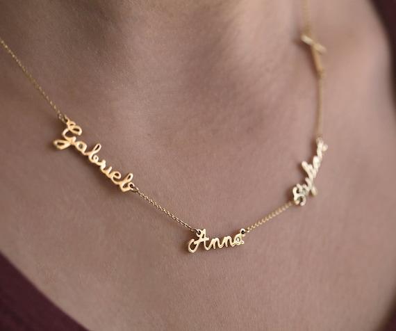 collier prenom tunisien