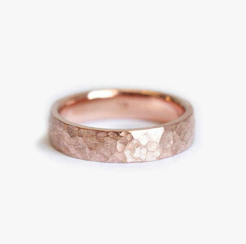 c76f98d3695ec Mens Band, Mens Ring, Hammered Mens Ring, Hammered Wedding Band, Mens  Wedding Ring, Mens Wedding Band, Rose Gold Mens Ring, Wide Mens Ring