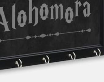 Alohomora Key Holder   Harry Potter Inspired Key Holder   Wall Key Holder   Key Rack   Decorative Key Hook   Home Decor