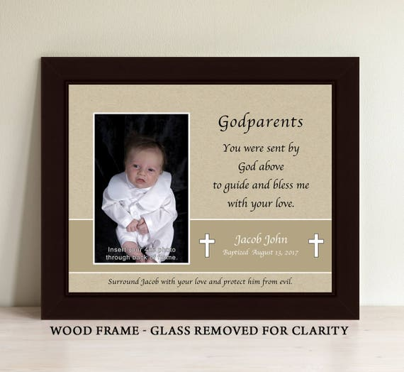 Personalized Godmother Godfather Godparent Gift Godparent | Etsy