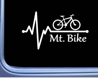 "/""Mountain Biker Inside/"" Decal Sticker Bike Helmet Bike"