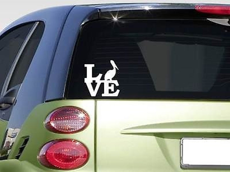 "Peace love Greyhound sticker *H101* 8/"" vinyl whippet"