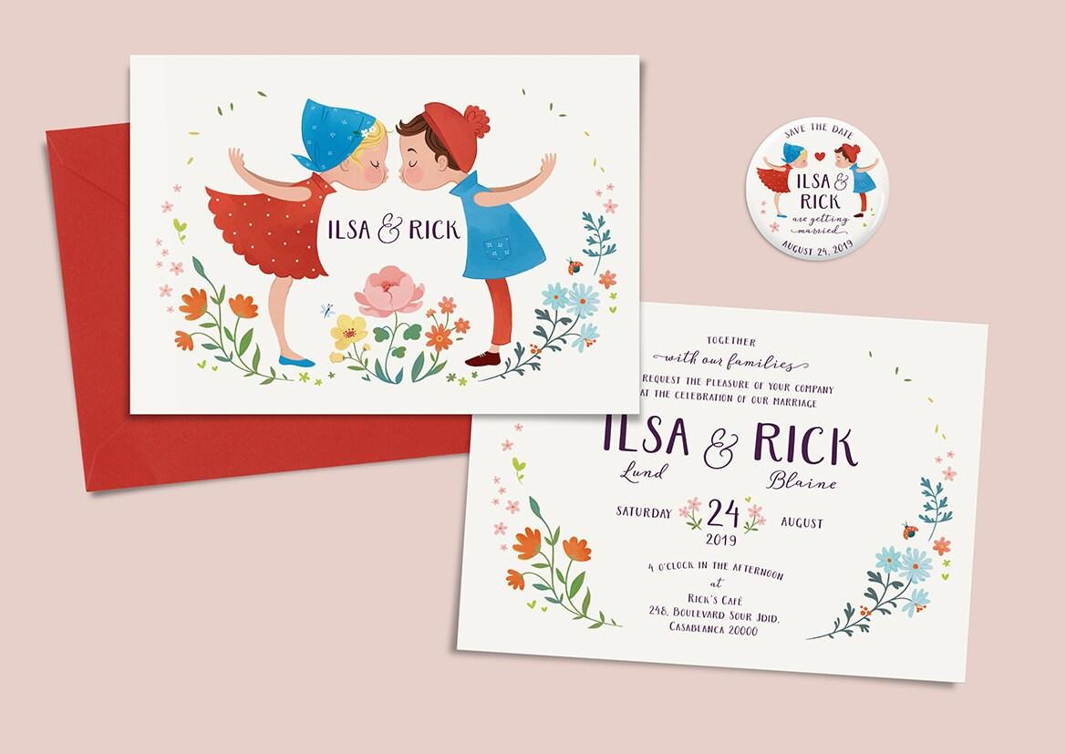 Romeo And Juliet Wedding Invitations: Printable Wedding Invitation Romeo And Juliet