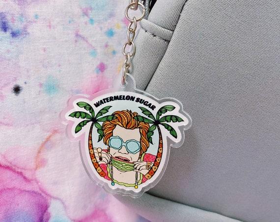 Watermelon Sugar Acrylic Keychain