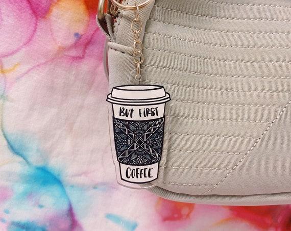 Coffee Acrylic Keychain