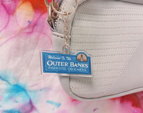 Outer Banks Acrylic Keychain
