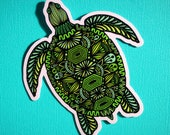Turtle Sticker (WATERPROOF)