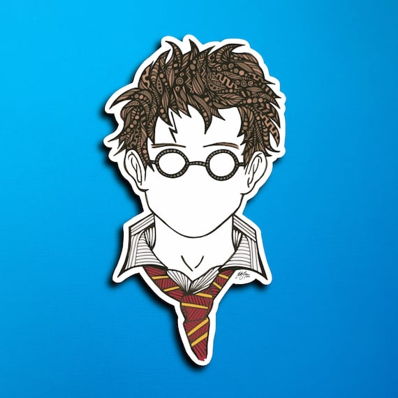 Harry Sticker (WATERPROOF)