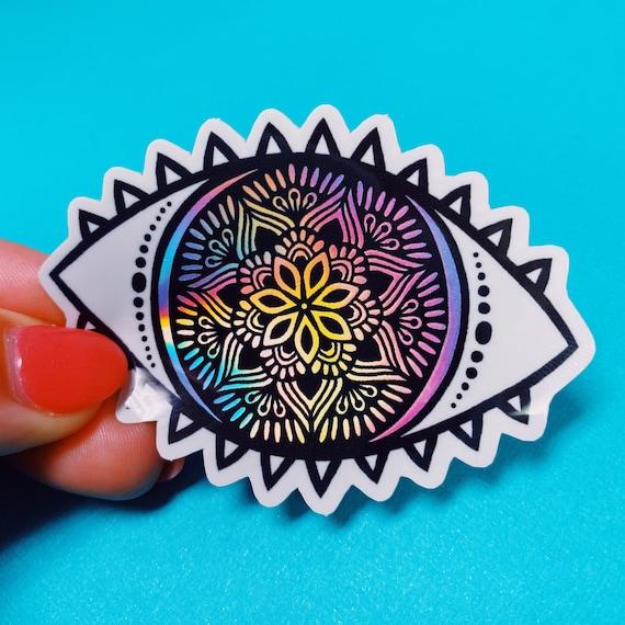 Holo Eye Sticker (WATERPROOF)