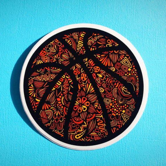 Basketball Sticker (WATERPROOF)