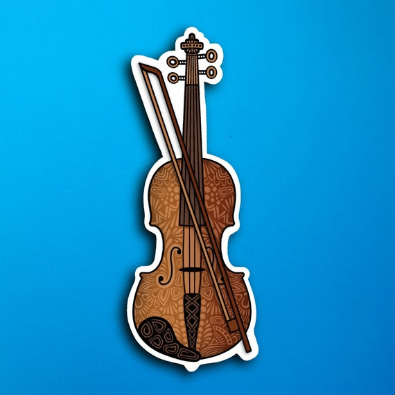 Violin Sticker (WATERPROOF)