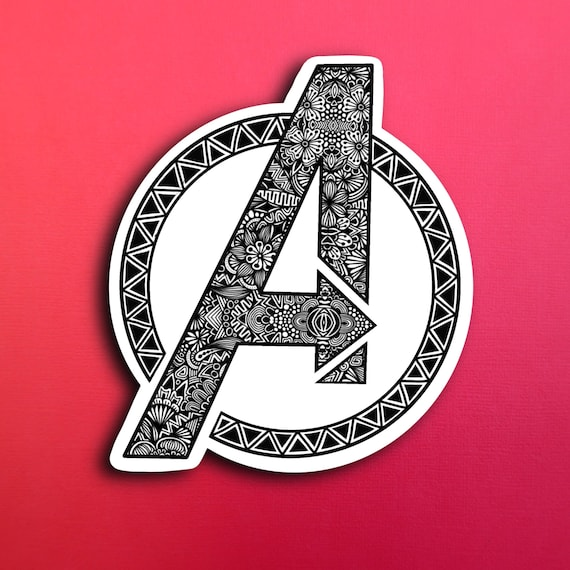 Avengers Sticker (WATERPROOF)
