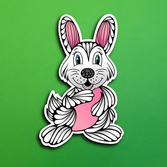 Rosalina the Rabbit Sticker (WATERPROOF)