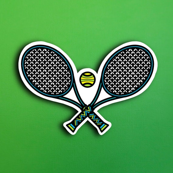Tennis Sticker (WATERPROOF)