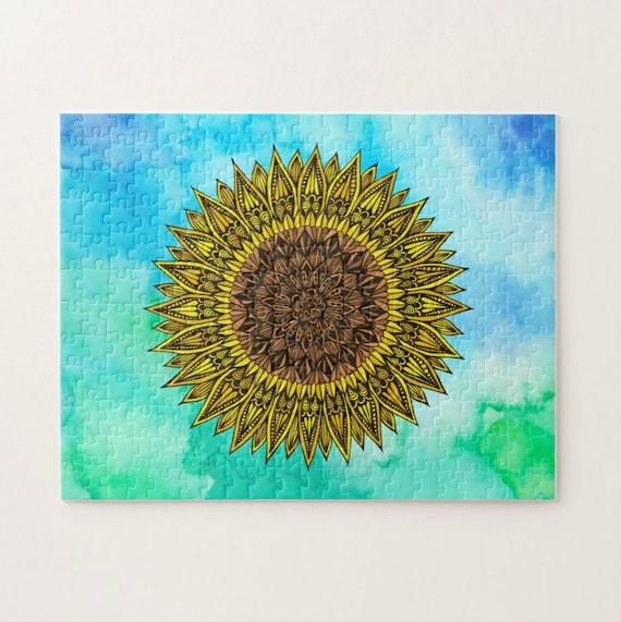 PRE-ORDER Sunflower Puzzle