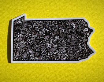 PA State Sticker