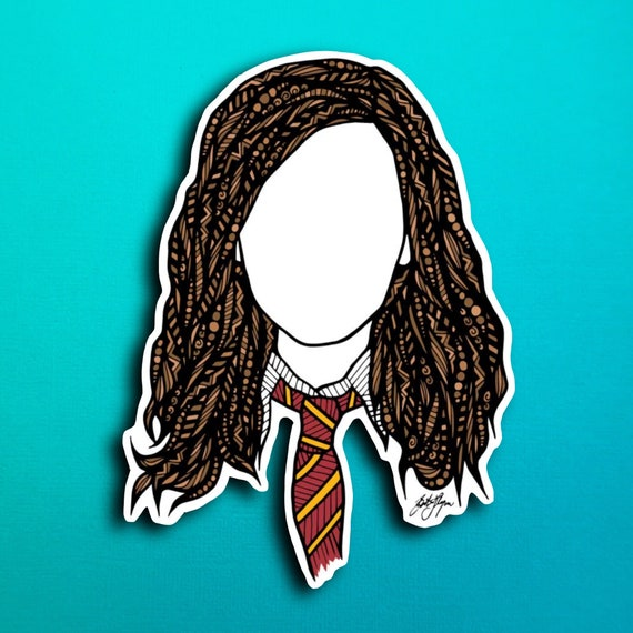 Hermione Sticker (WATERPROOF)