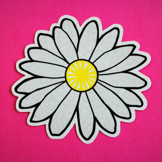 Daisy Sticker (WATERPROOF)