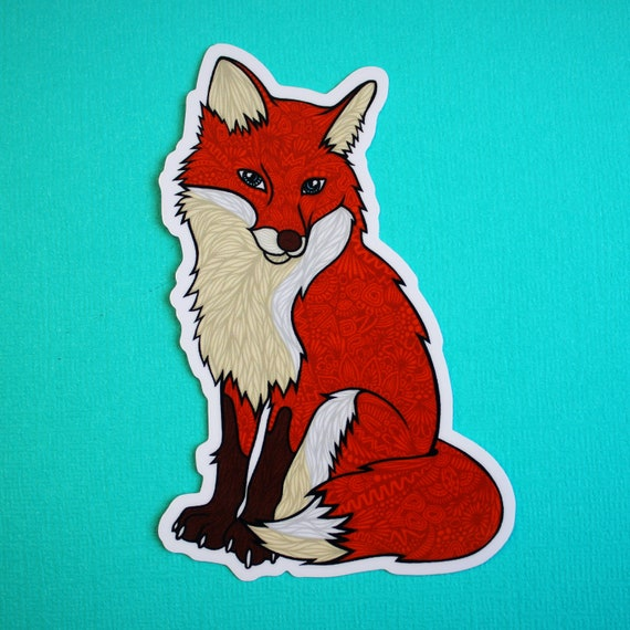 Fox Sticker (WATERPROOF)