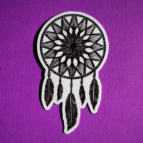 Dream Catcher Sticker (WATERPROOF)