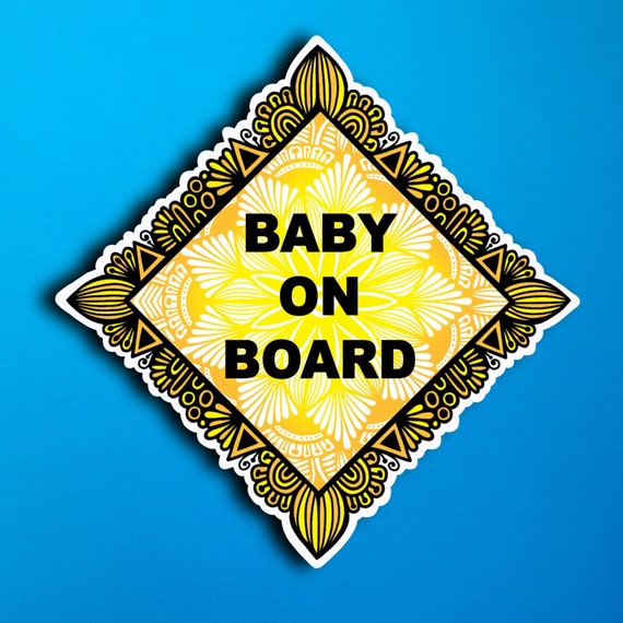 Baby on board Sticker (WATERPROOF)