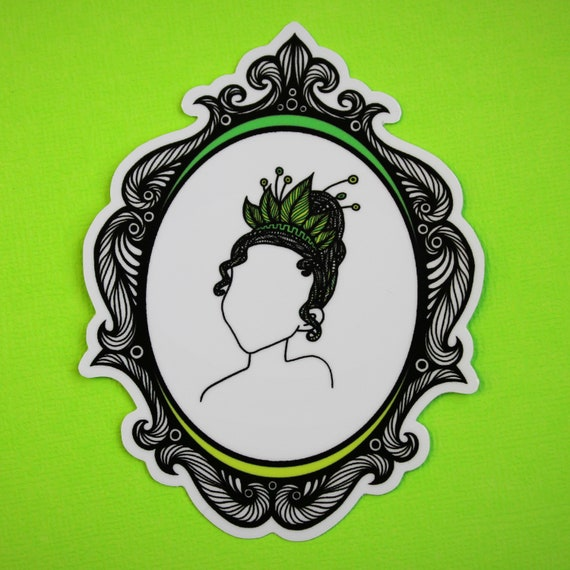 Kiss the Frog Sticker (WATERPROOF) Princess