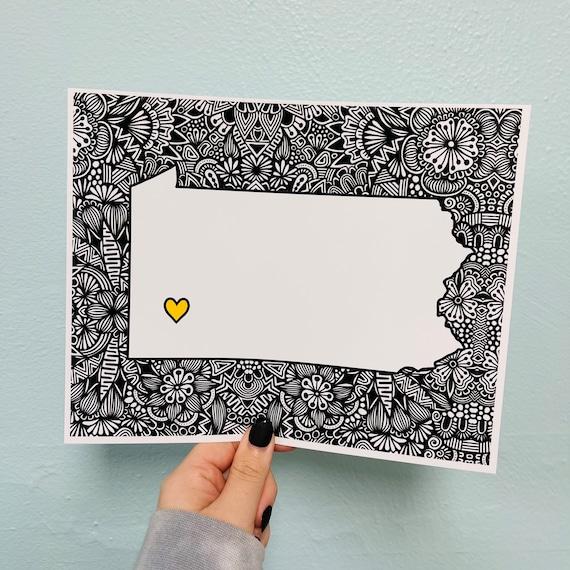 Love PA Print