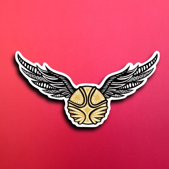 Golden Snitch Sticker (WATERPROOF)