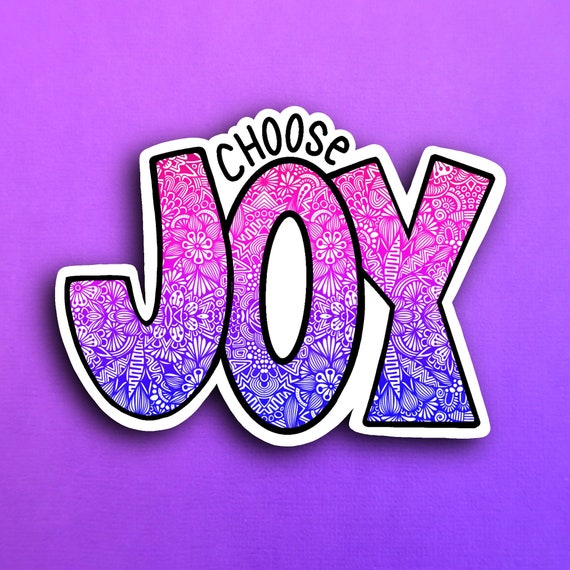 Joy Sticker (WATERPROOF)