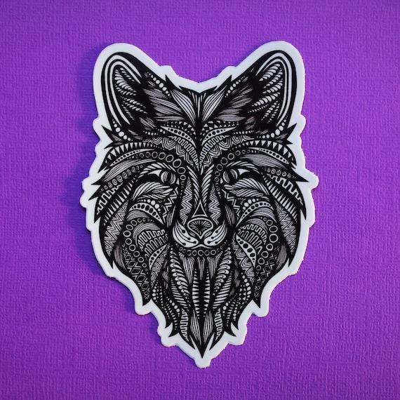 Wolf Sticker (WATERPROOF)