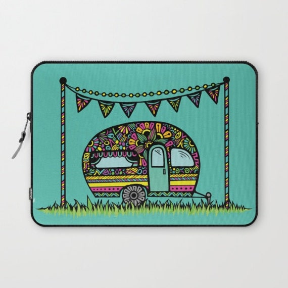 Little Camper Laptop Sleeve