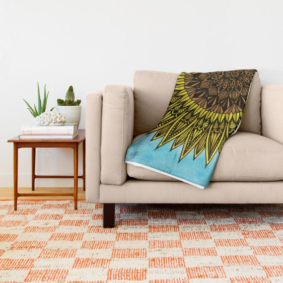 Sunshine Throw Blanket