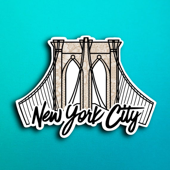 New York City Sticker (WATERPROOF)