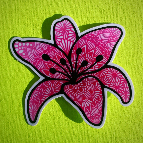 Lily Sticker (WATERPROOF)