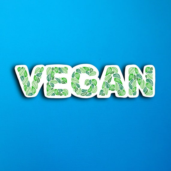 Vegan Sticker (WATERPROOF)