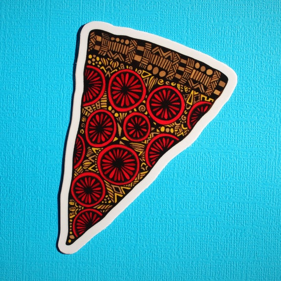 Pizza Sticker (WATERPROOF)