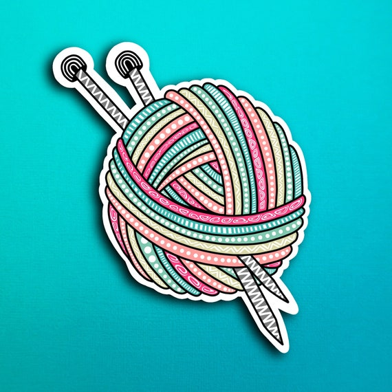 Yarn Sticker (WATERPROOF)