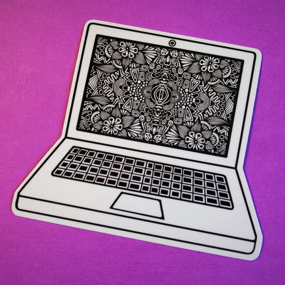 Laptop Sticker (WATERPROOF)