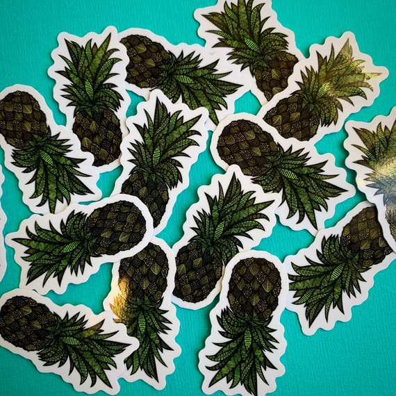 Mini Pineapple Sticker
