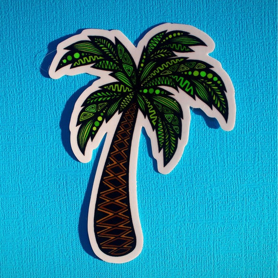 Palm Tree Sticker (WATERPROOF)