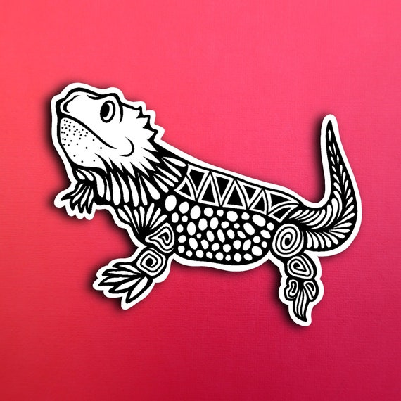 Bearded Dragon Sticker (WATERPROOF)